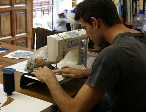 Creative sewing workshops for university students